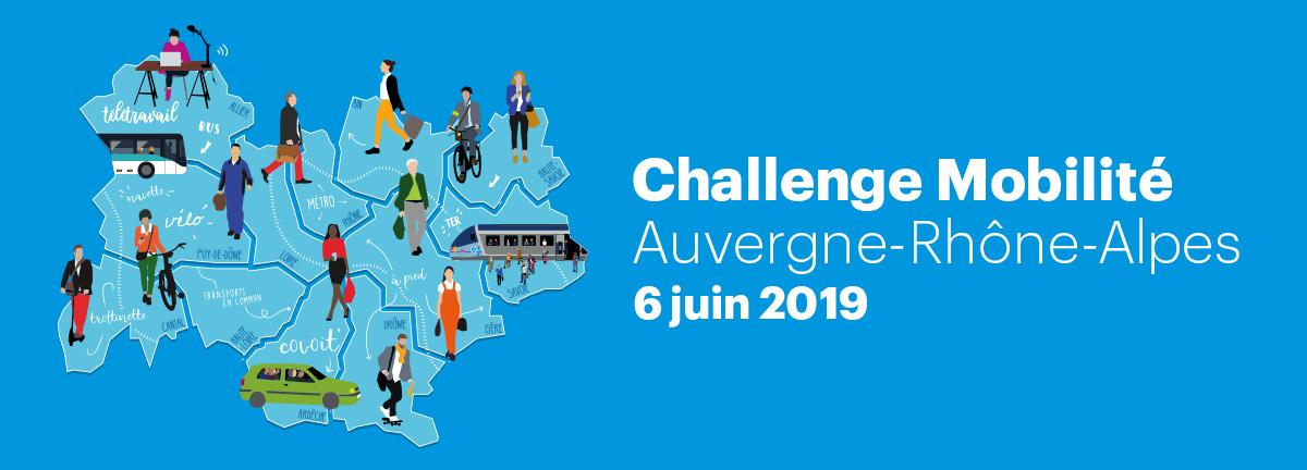 Challenge Mobilité Auvergne-Rhône-Alpes 2019