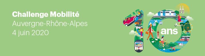 Challenge Mobilité Auvergne-Rhône-Alpes 2020